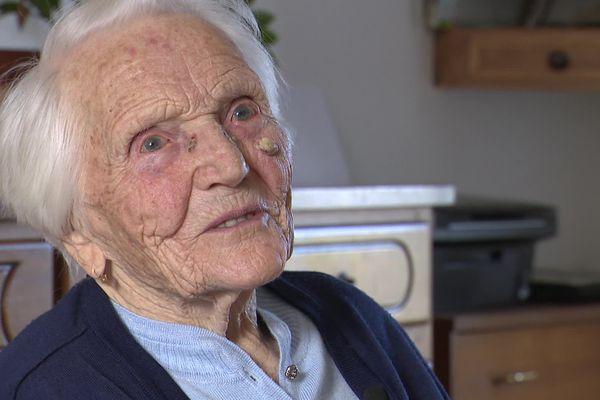 Solange Demorgny a fêté ses 108 ans le 10 mars dernier