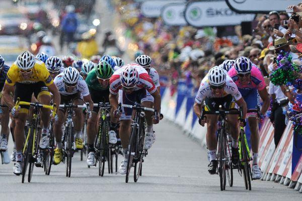 Le Tour de France à Châteauroux en 2011.