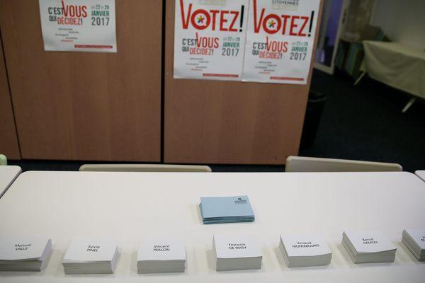 Les bureaux de vote de la primaire de la Belle Alliance Populaire seront ouverts les 22 et 29 janvier 2017 en Limousin