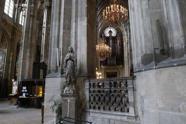L'église Saint-Eustache dans le 1er arrondissement de Paris accueillera la messe de Pâques.
