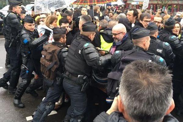 L'intervention des gendarmes mobiles