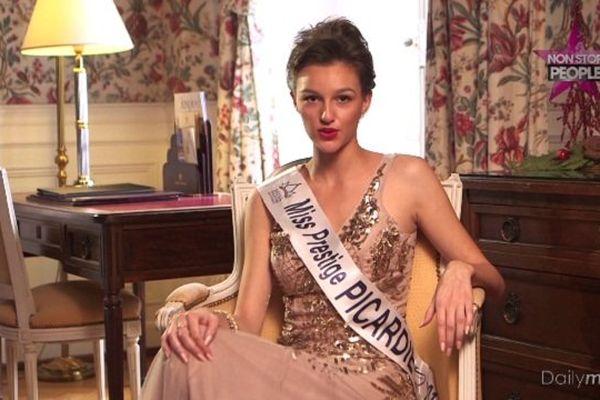 Charlène Hodin a remporté le concours Miss Prestige Picardie et pourrait devenir la concurrence de Miss France ce soir.