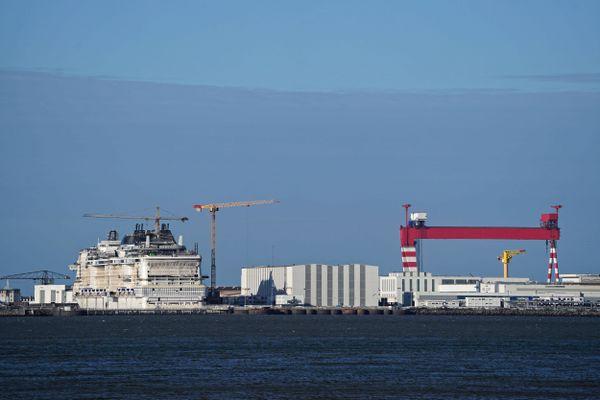 Le syndicat F0 des Chantiers de l'Atlantique s'inquiète du transfert de technologie de l'italien Fincantieri, prétendant à son rachat, vers le chantier chinois CSSC