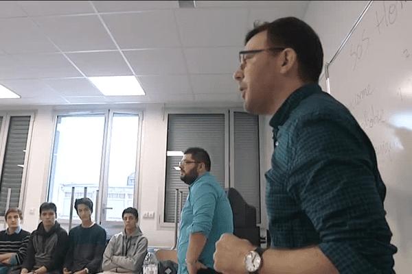 Une intervention au lycée Léonard Limosin, avec des élèves de Seconde.