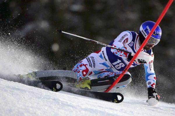 Jean-Baptiste Grange, l'une des chances tricolores dans le slalom