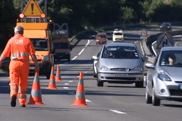 Chaleur, départs en vacances, trafic plus important, l'été le risque d'accident ou de panne est multiplié par quatre sur l'A20.