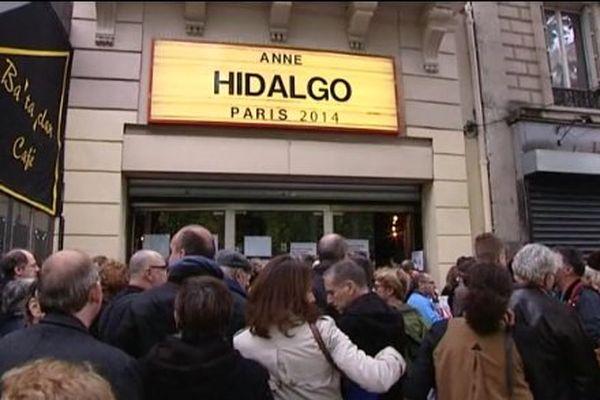 Anne Hidalgo a lancé sa campagne ce mardi 28 mai 2013 au Bataclan.