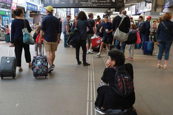 La gare Montparnasse paralysée ce dimanche 30 juillet 2017
