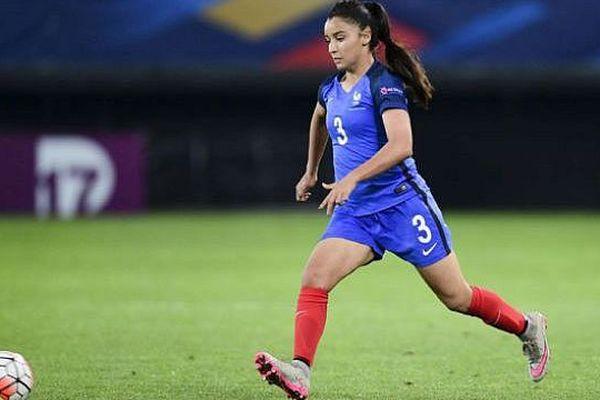 Sakina Karchaoui, alias Saki, évolue au poste d'arrière gauche au Montpellier Hérault Sport Club