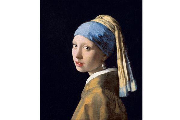 Jeune fille à la perle de Johannes Vermeer Tableau original