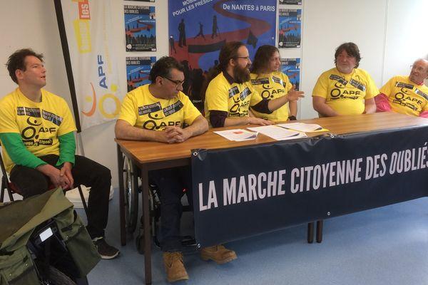 La marche citoyenne des oubliés partira de Nantes le samedi 25 mars