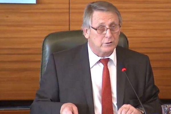 Gérard Vandenbroucke a été élu président de la Région Limousin, Limoges, 14-10-2014