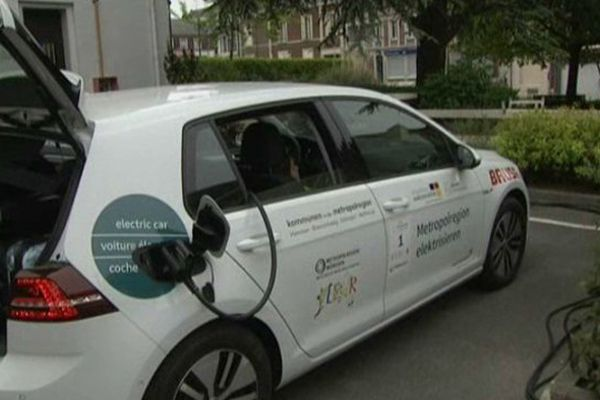 Roye accueille le Tour de l'Europe des voitures électriques