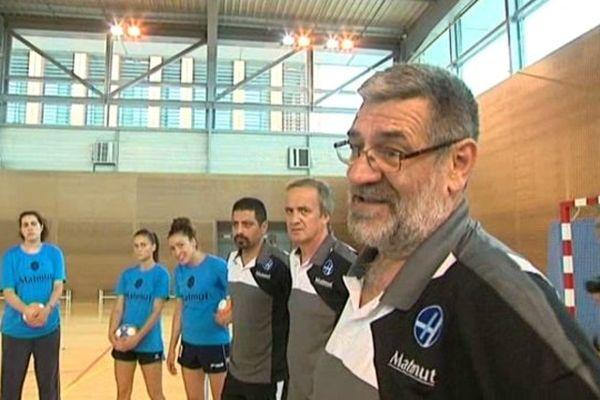Sandor Rac, le nouvel entraîneur du HAC Handball