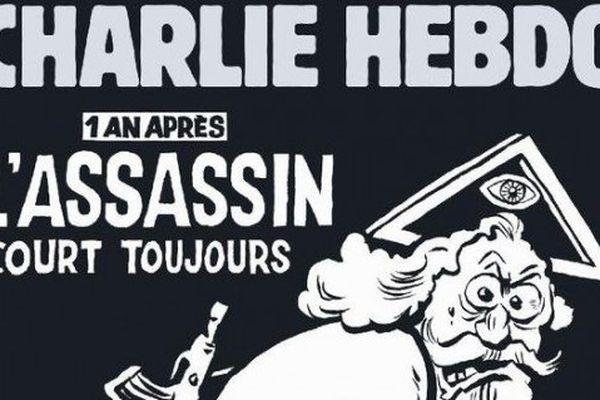 La Une du numéro spécial de Charlie Hebdo, un an après les attentats