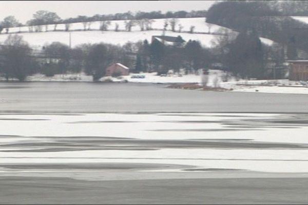 Le site du ValJoly sous la neige