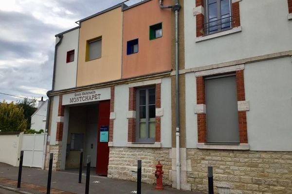 L'école maternelle Montchapet à Dijon