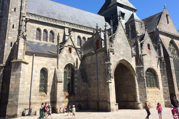 La collégiale de Guérande, en Loire-Atlantique