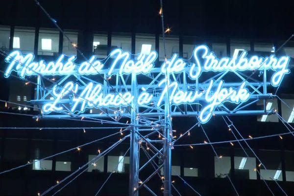 Le marché de Noël de Strasbourg pour la première fois à New York en décembre 2019