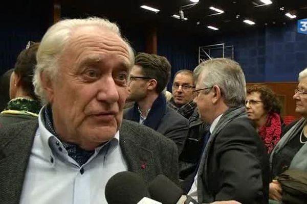 Jean-Paul Bachy, président de la Région Champagne-Ardenne de 2004 à 2015