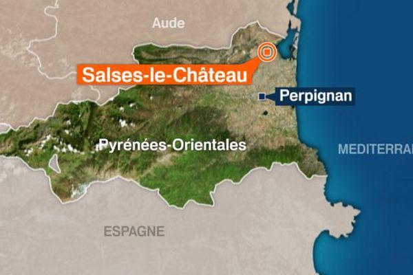 Salses-le-Château (Pyrénées-Orinetales)