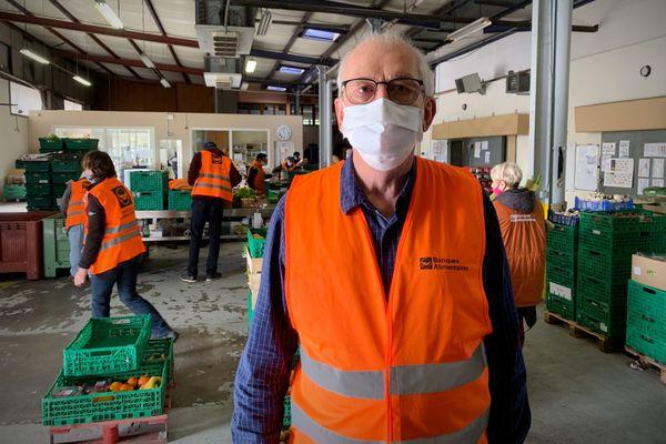Etienne Stock, président de la Banque Alimentaire de Moselle.