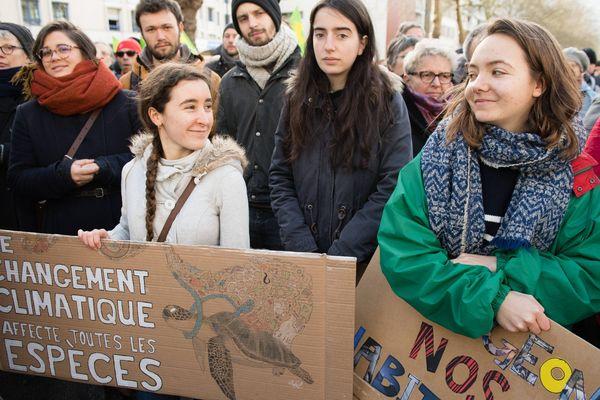 Le 27 janvier dernier, 1.500 personnes avaient défilé dans la capitale bretonne pour défendre le climat