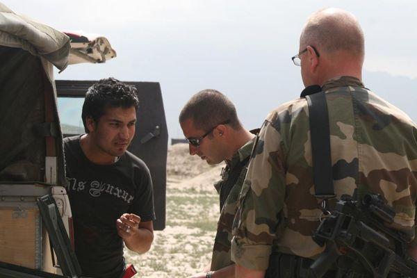 Mustafa a travaillé comme interprète aux côtés des forces françaises pendant près de quatre ans