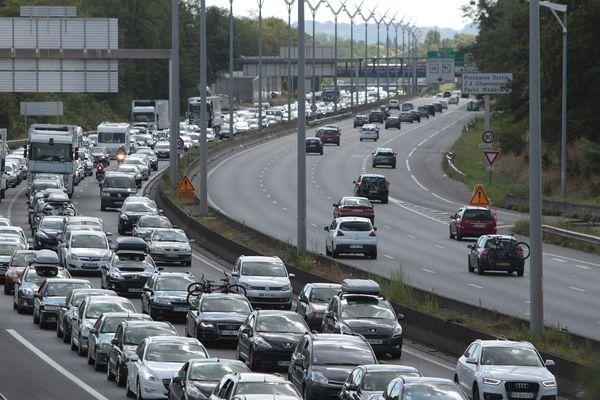 Des embouteillages sont à prévoir samedi 28 dans le sens des départs.