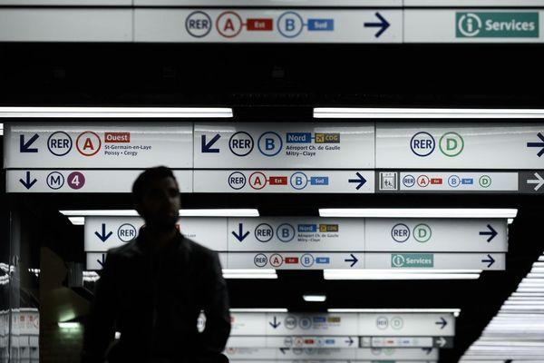 13 lignes du métro seront fermées dimanche 29 décembre d'après les prévisions de la RATP (illustration).