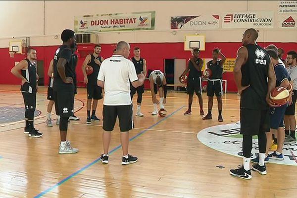 L'équipe de la JDA à l'entraînement, jeudi 8 août 2019