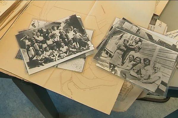 """Le camp de Rieucros près de Mende est très vite devenue un camp d'internement pour femmes, jugées """"indésirables"""" par le régime de Vichy"""
