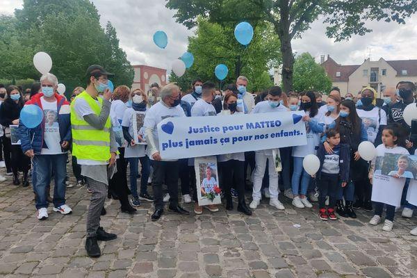 La marche a débuté vers 14h, à Champigny-sur-Marne.