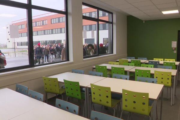 Une salle de classe d'un collège de l'Eure (Archives)