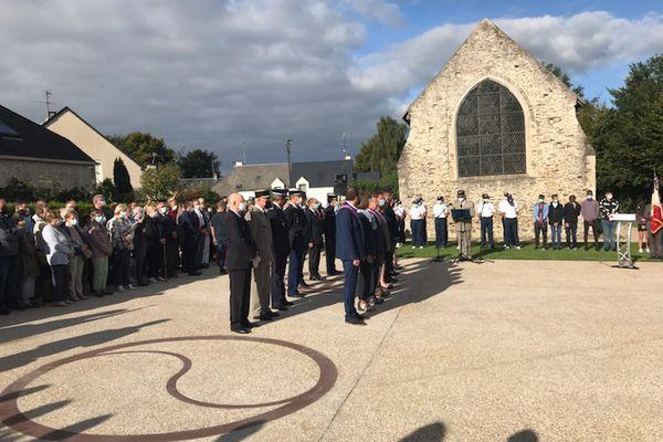 Une cérémonie a eu lieu ce samedi 11 septembre 2021 à Saint-Lô, pour inaugurer une stèle en hommage aux victimes du terrorisme.