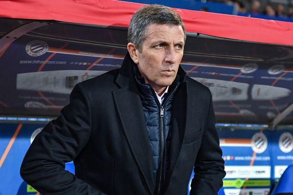 Thierry Laurey, entraîneur du RCSA depuis 2016, a prolongé son contrat jusqu'en juin 2021