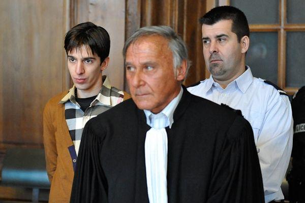Yacine Sid et l'un des avocats Patrick Uzan