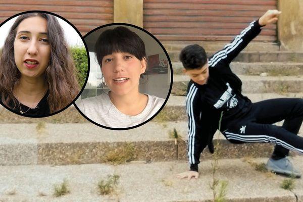 Maha et Noélia ont enquêté sur l'engouemennt des jeunes pour le hip hop à Casablanca et à Toulon.