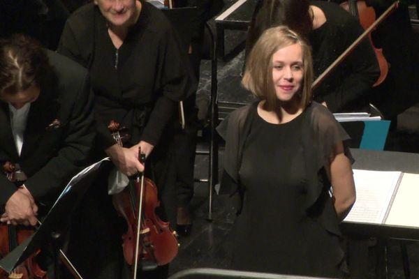 """Née à Amiens et formée au conservatoire de la ville, Camille Pépin a remporté la Victoire de la musique classique dans la catégorie """"meilleur compositeur""""."""