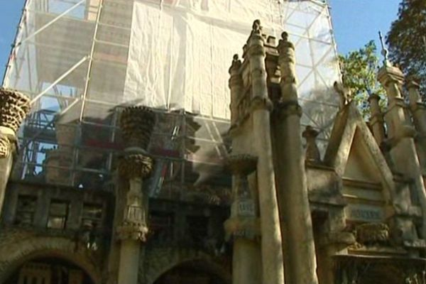 Rénovation du Palais Idéal du Facteur Cheval (Hauterives)