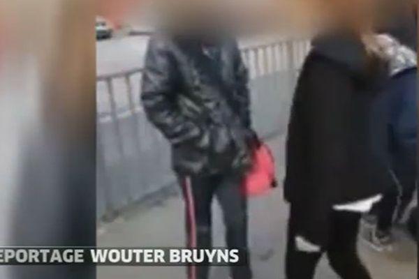 Capture d'écran de la vidéo diffusée par VTM.