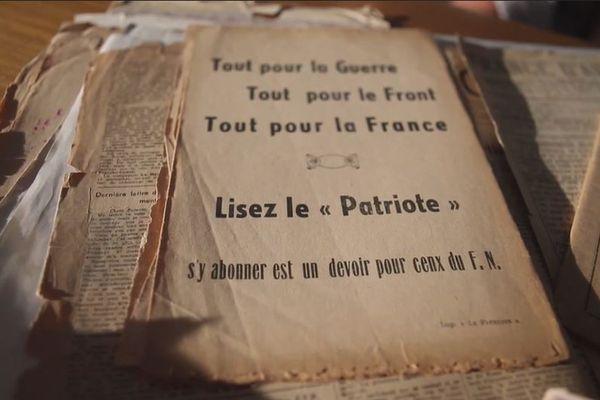 Les archives, conservées précieusement, pendant des décennies, par Léo Micheli.