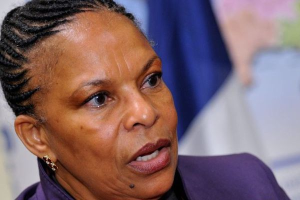 Christiane Taubira, ministre de la Justice