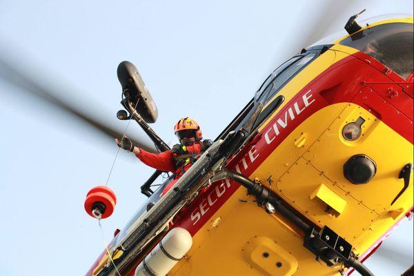 L'hélicoptère Dragon 33 (photo d'illustration)