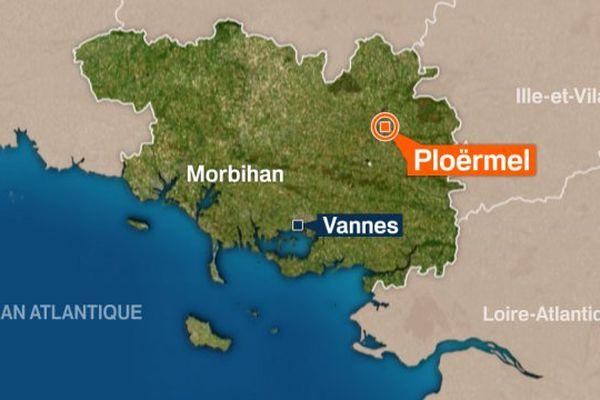 Les recherches sont en cours dans la région de Ploërmel pour localiser la septuagénaire