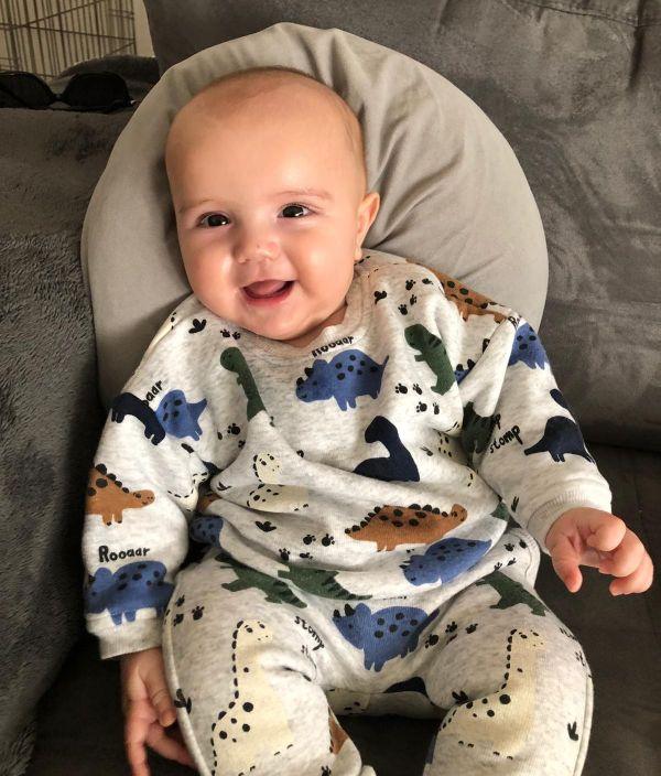 Le petit Gabriel Zavaglia, 4 mois.