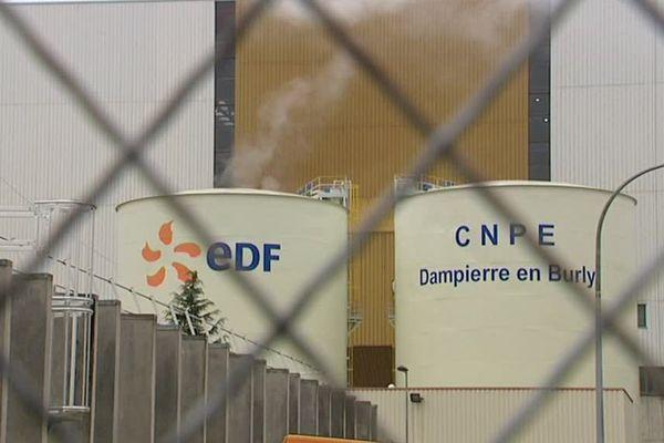 La centrale nucléaire de Dampierre-en-Burly.