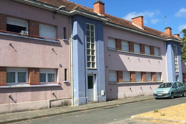 Abdel-Malik Petitjean a résidé plusieurs années dans cet immeuble de Montluçon.