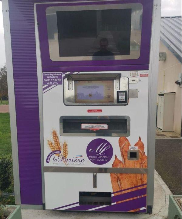 Des baguettes croustillantes dans un distributeur automatique