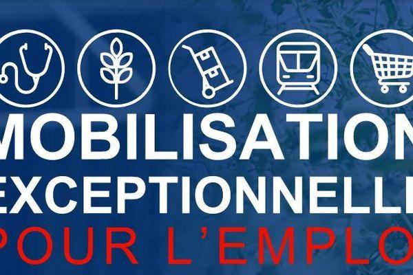 """Plus de 13 000 offres d'emplois sont proposées sur la plateforme """"mobilisation emploi"""" dans toute la France pendant la période de confinement"""